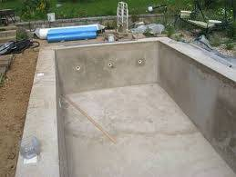 Бассейн своими руками: чаша из бетона