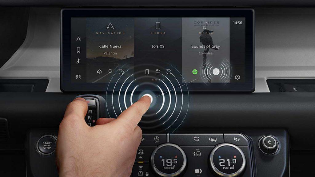Технология Jaguar Land Rover